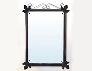 Espejo de baño en forja