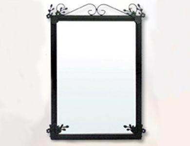 Espejo de forja para baño