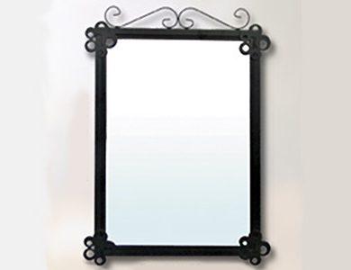 Espejo de hierro forjado