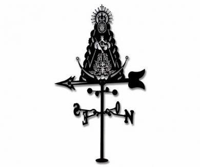Veleta Virgen del Rocio de Forja