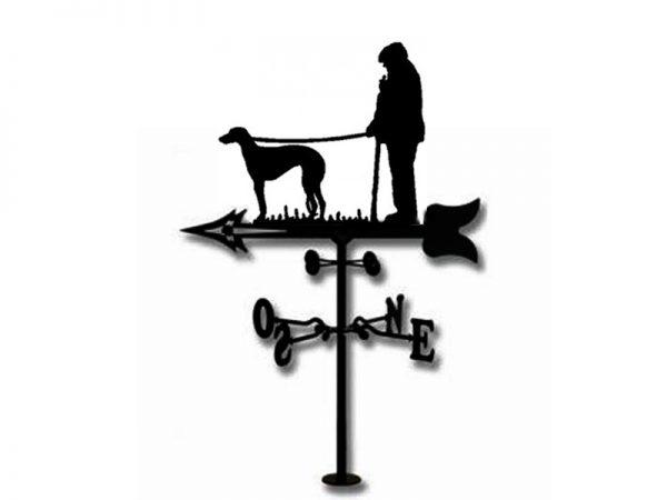 Veleta pastor con Galgo